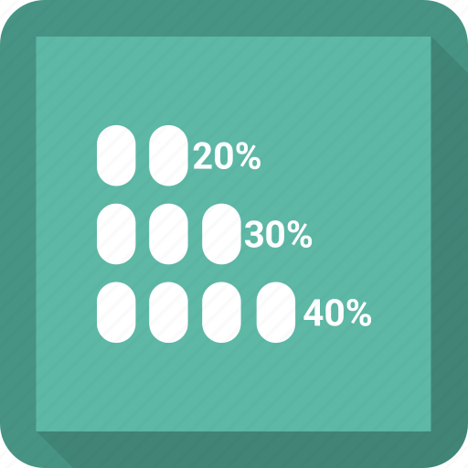 bar, graph chart, growth chart, infographic icon