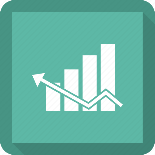 business, finance, graph, marketing icon