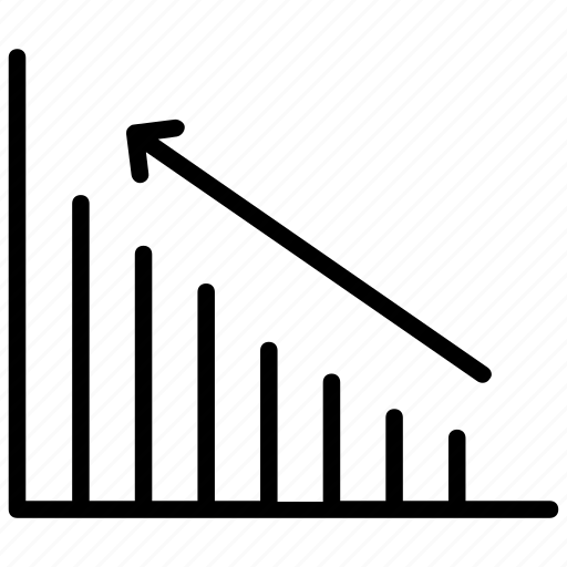 analytics, bar chart, bar graph, business growth, infographics icon