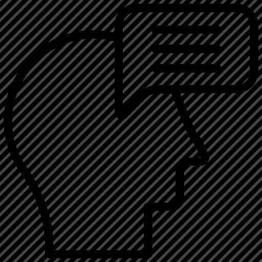 analytical thinking, brainstorming, human mind, logical thinking, psychology icon