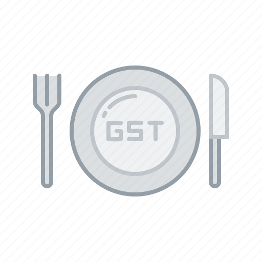 charge, equal, gst, restaurant, service, tax icon