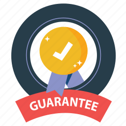 badge, best, emblem, guarantee, prize, satisfaction, warranty icon