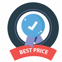 best, best price, emblem, guarantee, prize, satisfaction, warranty icon