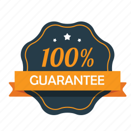 award, guarante, guarantee, hundred percent, satisfaction, satisfaction guarantee, warranty icon