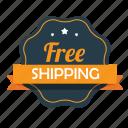 ecommerce, emblem, free, free shipping, guarantee, shipping, shop