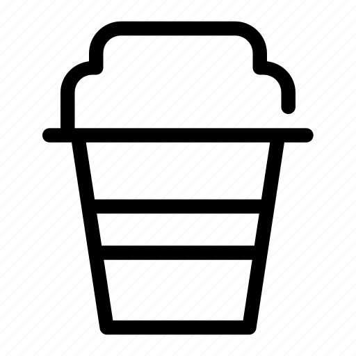 coffee, cup, disposable, drink, tea icon