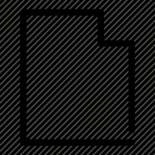 data, document, file, letter, sheet icon