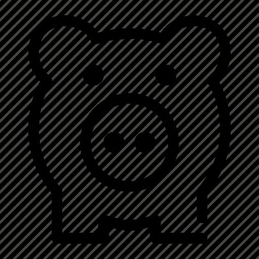 bank, coin, piggy, save, saving icon