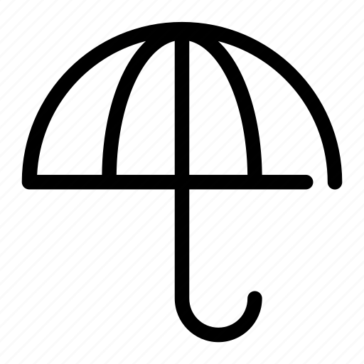 bank, investment, protection, secure, umbrella icon