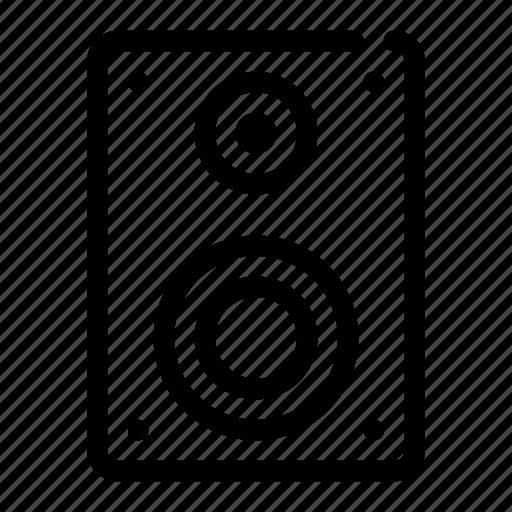 audio, loud, soundsystem, speaker, woofer icon