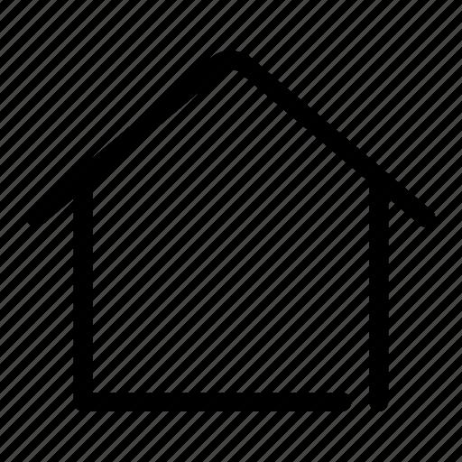 back, home, house, menu, residence icon