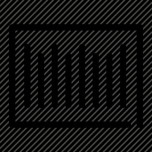 bar, code, label, scan, scanner icon