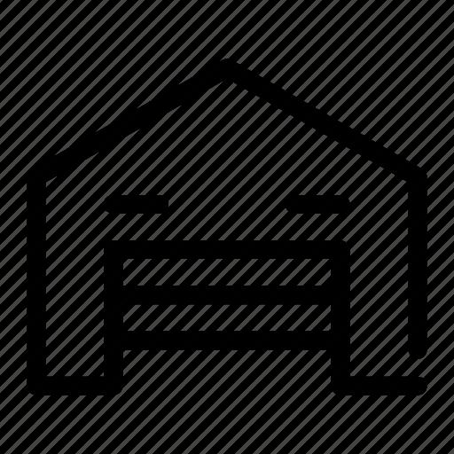 garage, house, saving, storage, warehouse icon