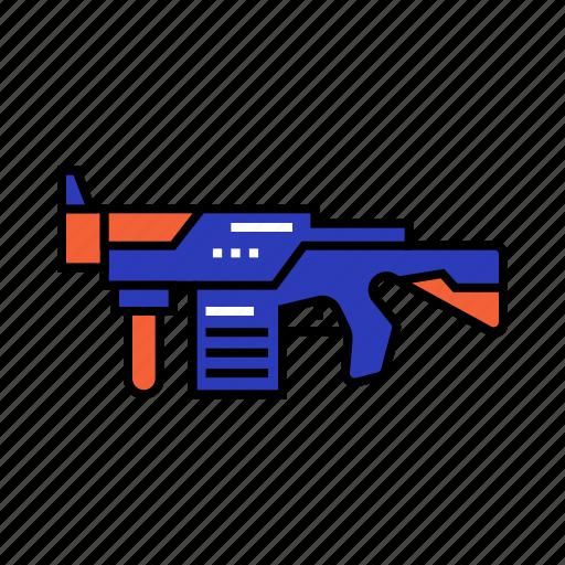 bullet, gun, kids, shot, toy, war icon