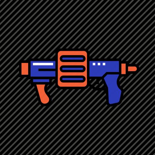 gun, marine, police, shoot, war icon