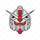 anime, automaton, cartoons, gundam, gundam 79, mecha, rx-78-2