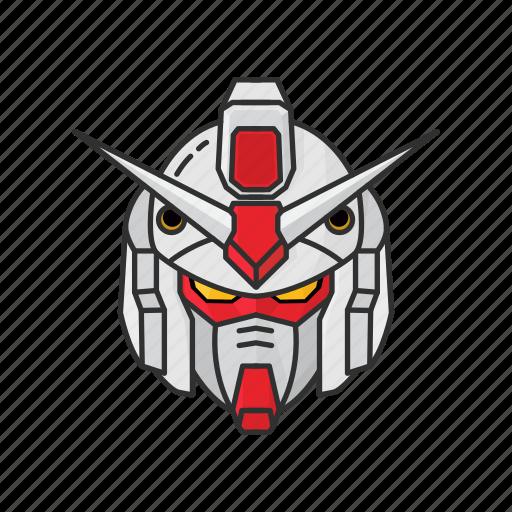 anime, automaton, cartoons, gundam, gundam 79, mecha, rx-78-2 icon