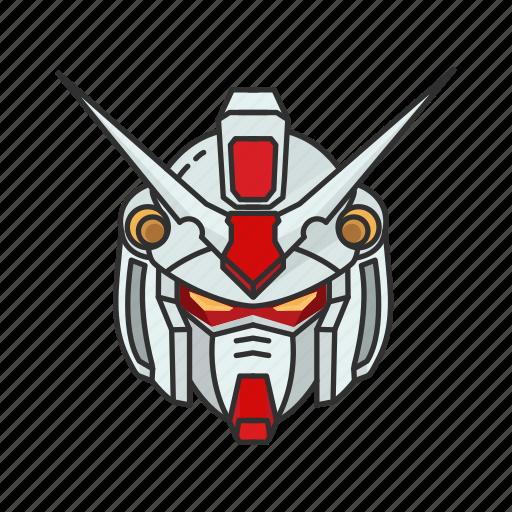 anime, automaton, cartoons, gundam, mecha, robot, zephyranthes icon