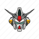 anime, automaton, cartoons, gundam, mecha, physalis, robot icon