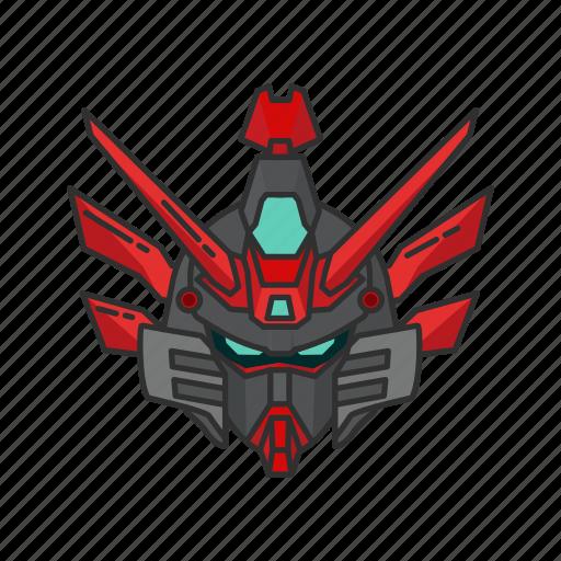 anime, cartoons, gundam, gundam wing, mecha, robot icon