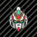 anime, automaton, cartoons, gundam, mecha, robot, victory gundam icon