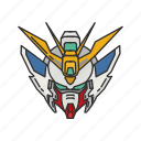 anime, artboard, cartoons, gundam icon