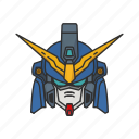 anime, automaton, cartoons, gundam, mecha, robot, sandrock icon