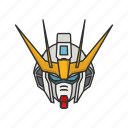 anime, automaton, cartoons, gundam, gundam strike, mecha, robot icon