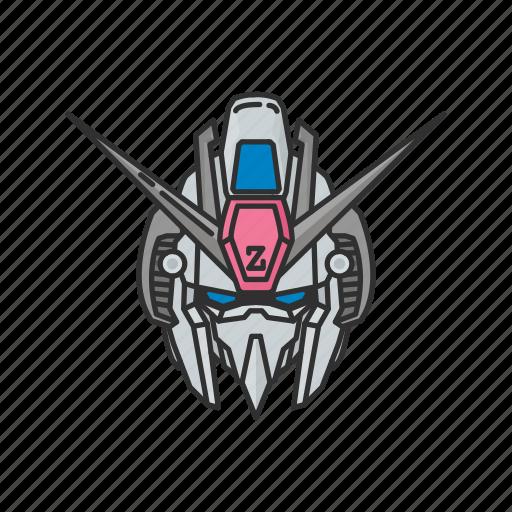 anime, cartoons, gundam, gundam z, mecha, robot, zeta icon