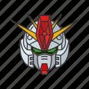 anime, automaton, cartoons, gundam, gundam zz, mecha, robot icon