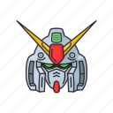 anime, automaton, cartoons, gundam, gundam 0080, mecha, robot icon