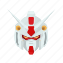 anime, automaton, cartoons, gundam, mecha, robot, zephyranthes icon