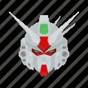 anime, automaton, cartoons, dendobrium stamen, gundam, mecha, robot icon