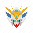 anime, cartoons, epyon, epyon gundam, gundam, mecha, robot icon