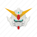 anime, cartoons, gundam, gundam wing, mecha, robot, wing gundam icon