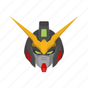 anime, cartoons, deathscythe, gundam, gundam deathscythe, mecha, robot icon