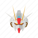 anime, autmaton, automaton, cartoons, gundam, mecha, robot icon
