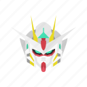 anime, cartoons, gundam, gundam 00, mecha, quanta gundam, robot icon