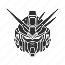 anime, automaton, cartoons, denbrium stamen, gundam, mecha, robot icon