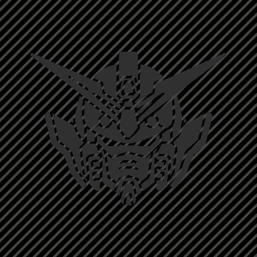 anime, cartoons, gundam, mecha, robot, wing gundam icon
