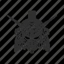 anime, automaton, cartoons, gundam, mecha, robot, sandrock gundam icon