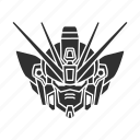 anime, automaton, cartoons, gundam, gundam shenlong, mecha, robot icon