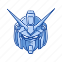 anime, cartoons, gundam, gundam wing, mecha, robot, zephranthes icon