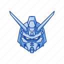 anime, automaton, cartoons, gundam, mecha, robot, shining gundam icon