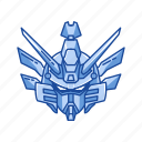 anime, automaton, cartoons, gudam wing, gundam, mecha, robot icon