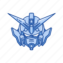 anime, automaton, cartoons, gundam, mecha, robot, wing gundam icon