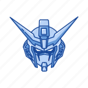 anime, automaton, cartoons, gundam, gundam destiny, mecha, robot icon