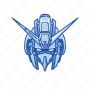 anime, cartoons, god gundam, gundam, mecha, robot, victory gundam icon