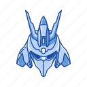 anime, cartoons, gundam, mecha, msn-04 sazabi, robot, sazabi icon