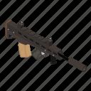 gun, weapon, firearm, assault rifle, shotgun